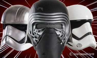 Gear Up for Battle with Helmets from Star Wars: The Force Awakens