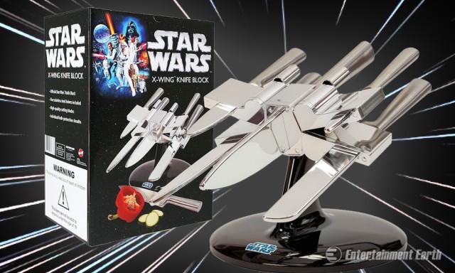 Star Wars X-Wing Fighter Knife Block