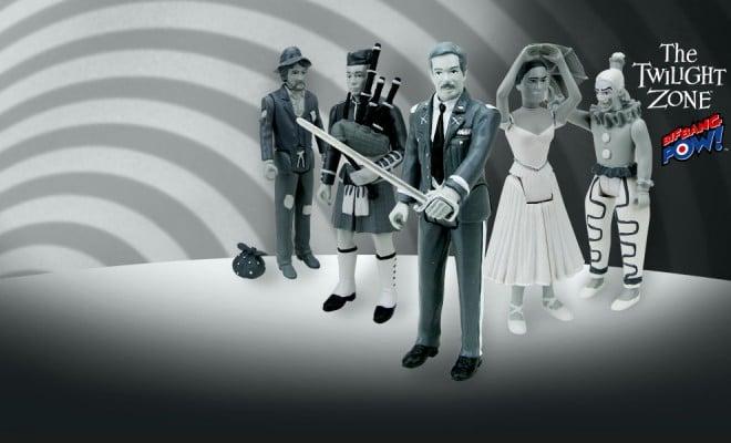 The Twilight Zone Ballet Dancer 3 3//4-Inch Figures Series 3
