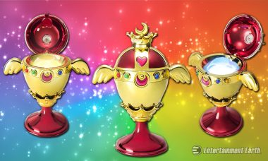 Transform into a Super Sailor Senshi with the Sailor Moon Chalice Prop Replica