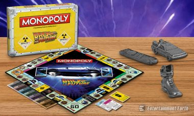 Grab Your Hoverboard and Zoom Through Back to the Future Monopoly