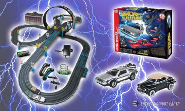 Race and Beat Biff Tannen with the Back to the Future Electric Slot Car Race