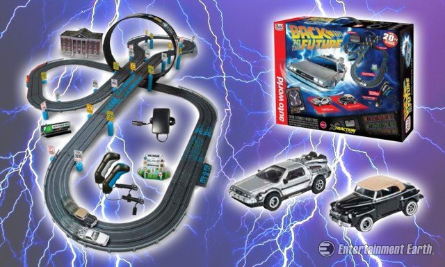 Back to the Future Slot Car