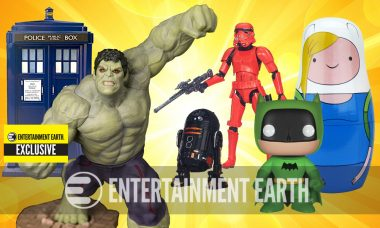 Entertainment Earth Presents Over 150 Exclusive Collectibles You Can't Get Anywhere Else