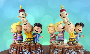 Celebrate the Peanuts' 65th Anniversary with a Joyous Jim Shore Statue