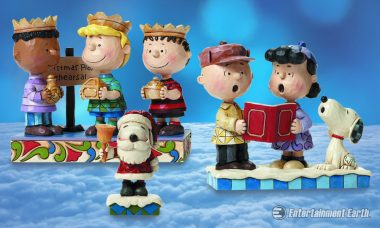 The Peanuts Invite You to Spend the Holidays with Them as Whimsical Statues