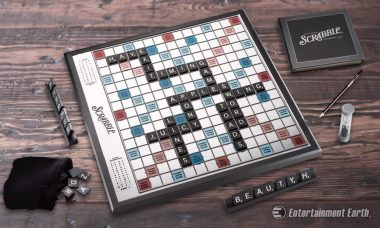Elevate Game Night with Hasbro's Scrabble Onyx Edition