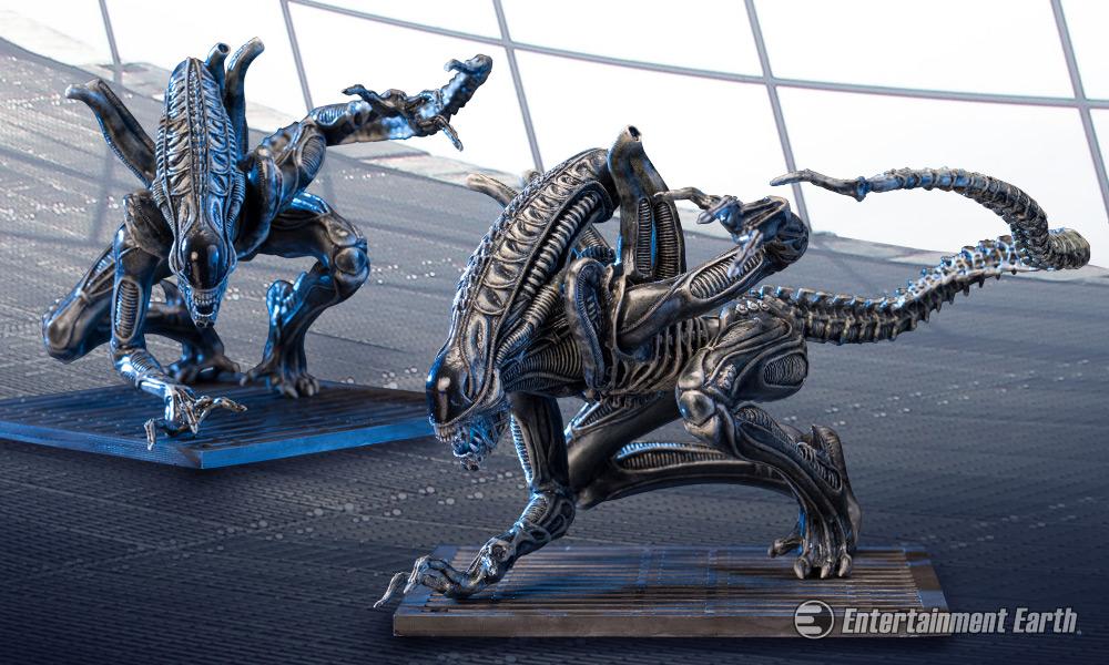 Aliens Warrior Drone ArtFX Statue Creeps Along The Spaceship Sulaco
