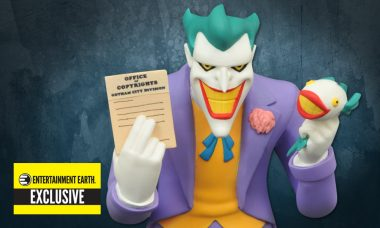Exclusive Batman: The Animated Series Joker Bust Seems a Little Fishy