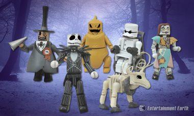 You'll Love The Nightmare Before Christmas Minimates' Ghost-like Charm