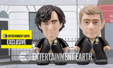 Sherlock and Watson Walk Down the Aisle as In-Stock Exclusive Vinyl Figures