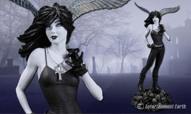Death Is There for You as Exquisite Statue from Neil Gaiman's The Sandman