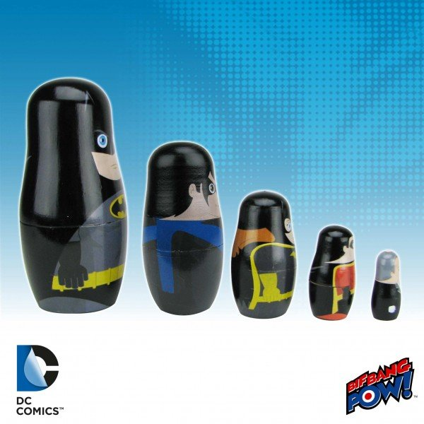 Batman Nesting Dolls