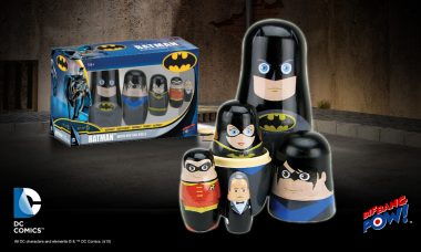 BATMAN™ and Allies Step Out of the Shadows as New Collectible Wood Nesting Doll Set