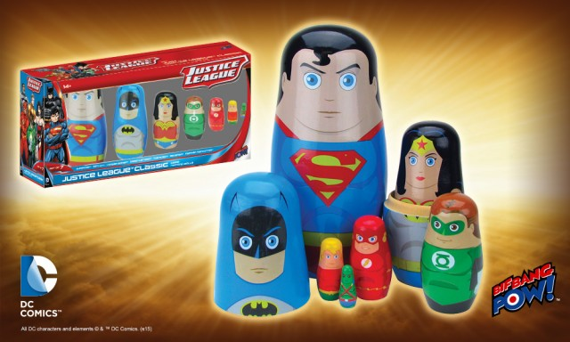 Justice League Nesting Dolls