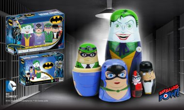 The Evildoers of Gotham City Are Popping Out as Collectible Wood Nesting Dolls