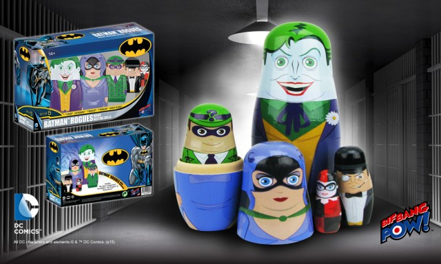 Batman Rogues Nesting Dolls