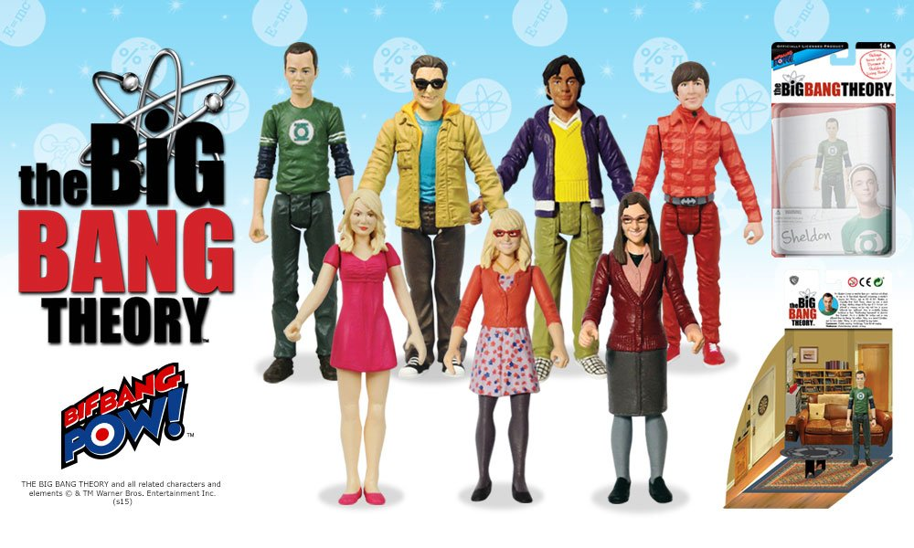 Expand Your Universe Of Action Figures With The Gang From