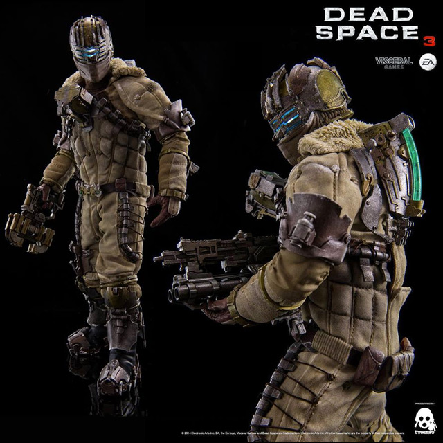 Dead Space 3 1:6 Scale Isaac Clarke Snow Suit Version Action Figure