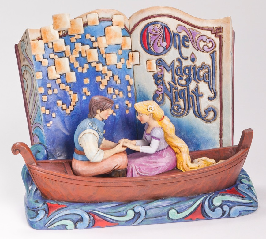 Tangled Storybook Statue