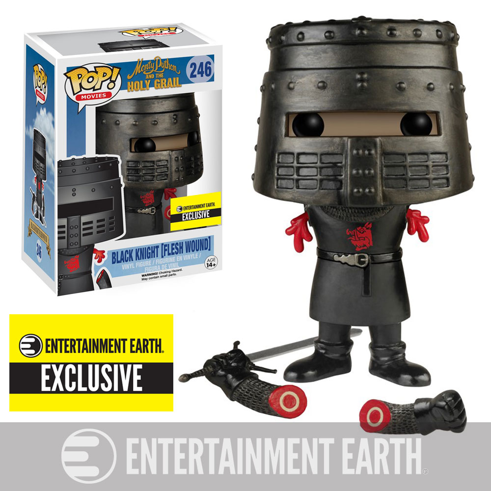 Exclusive Monty Python And The Holy Grail Pop Vinyl Only