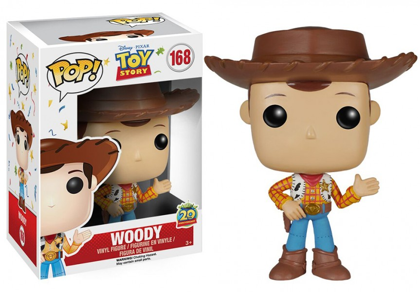Toy Story Woody Pop! Vinyl