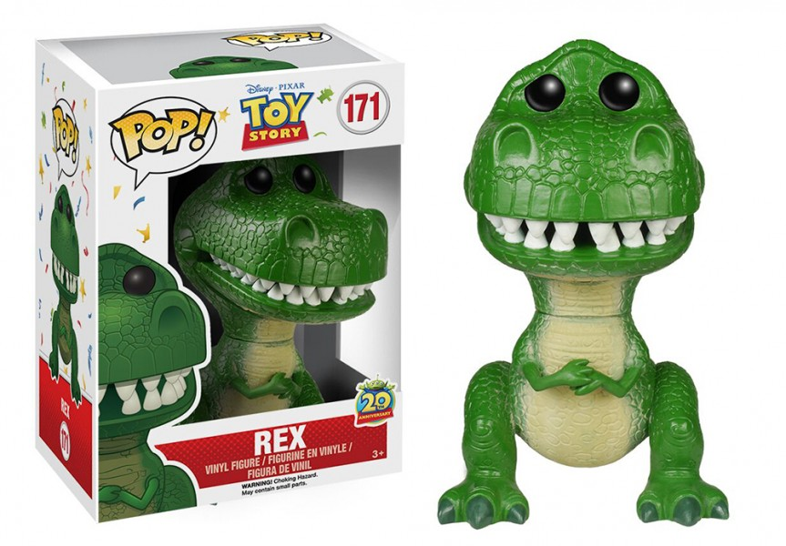 Toy Story Rex Pop! Vinyl