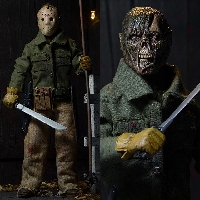Friday the 13th Part 6 Jason 8-Inch Retro Action Figure