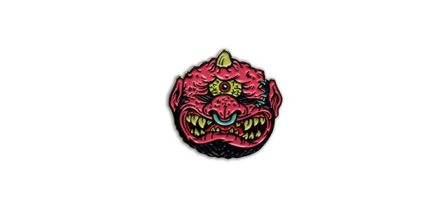 Madballs Horn Head Pin