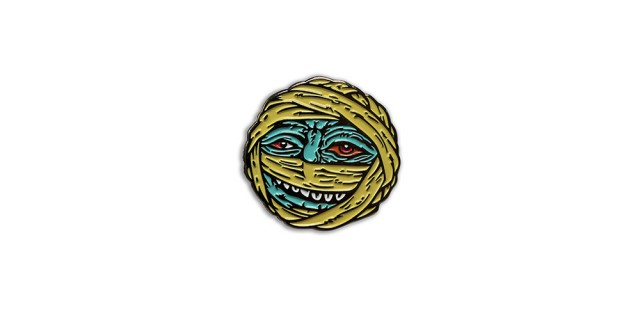 Madballs Dust Brain Pin