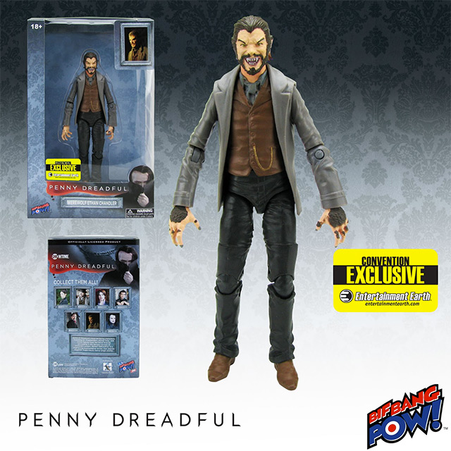 Penny Dreadful Ethan Werewolf 6-Inch Action Figure