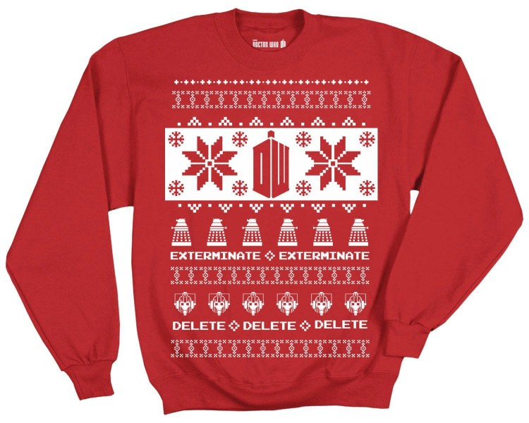 Doctor Who Christmas Sweater