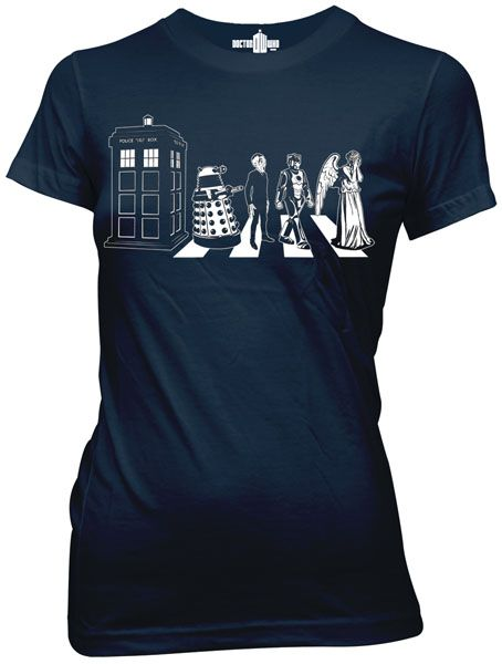 Doctor Who Abbey Road Shirt