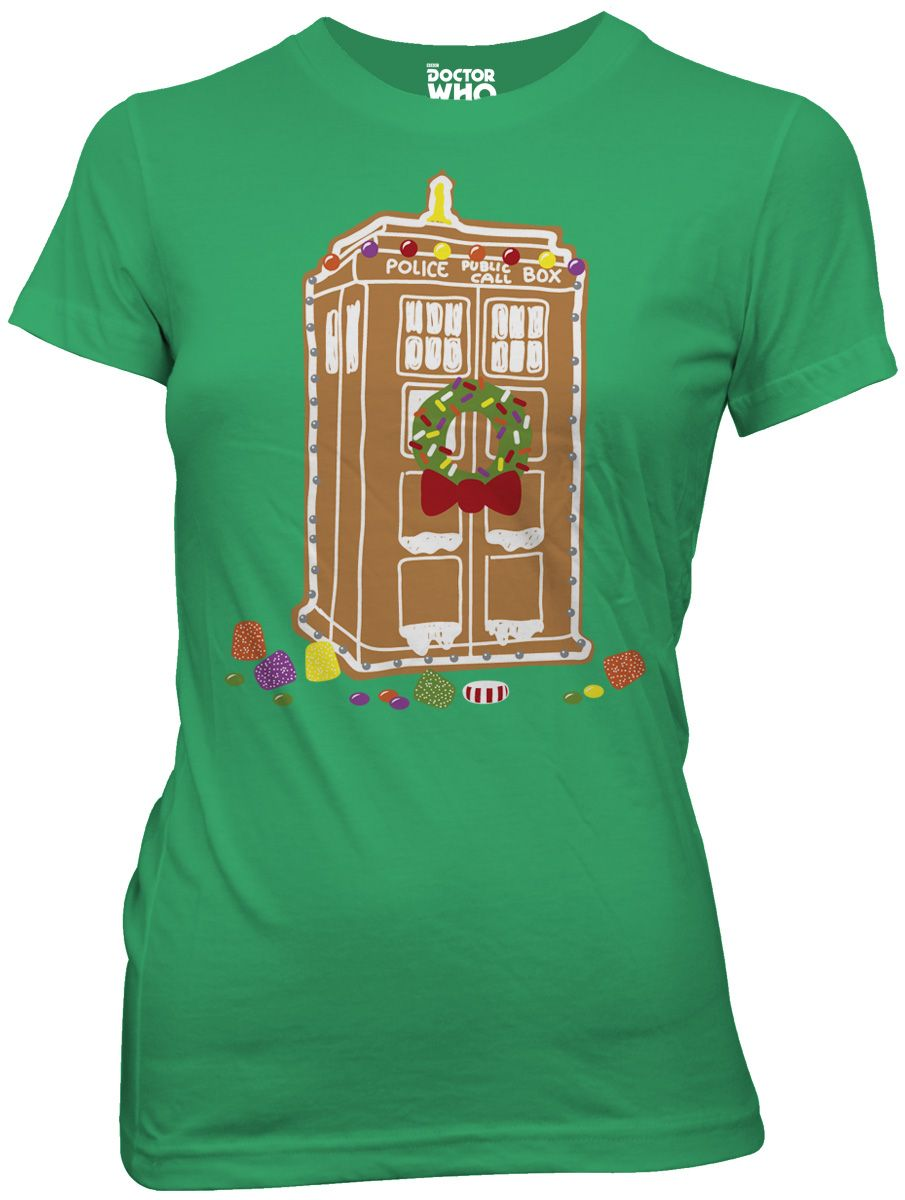 Doctor Who Gingerbread Shirt