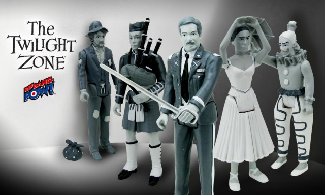 Twilight Zone 5 Characters Action Figures
