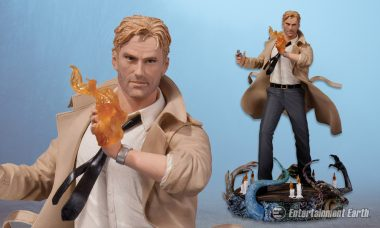 Mystify Your DC Comics Collection with a Supernatural Constantine Statue