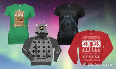 Doctor Who Apparel for All Your Time-Traveling Adventures