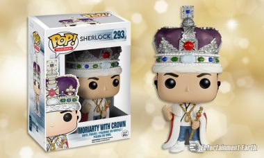 Moriarty Gets Royal Treatment from Funko as Newest Sherlock Pop! Vinyl