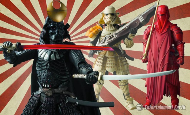 ... New Star Wars Samurai Figures Are Coming To Conquer A Galaxy