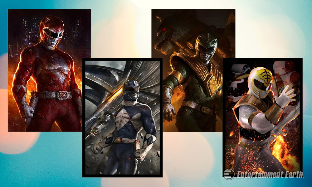 Morph Your Home Decor With Awesome Power Rangers Art Prints