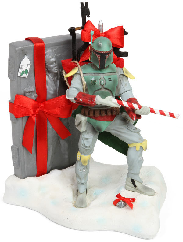 How the Galaxy's Most Notorious Bounty Hunter Saved Christmas