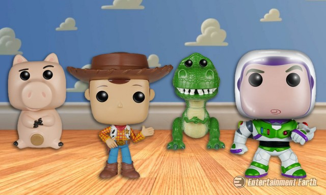 Toy Story Pop! Vinyls