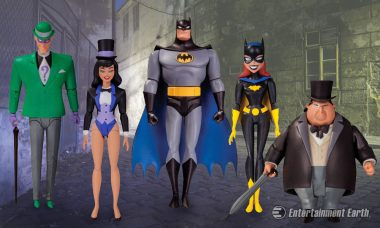 Gotham Gets Colorful with More Batman: The Animated Series Action Figures