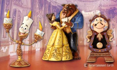Find Adventure in the Great Wide Somewhere with Disney Traditions Beauty and the Beast Statues
