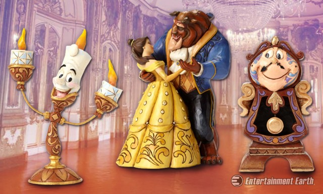Beauty and the Beast Statues