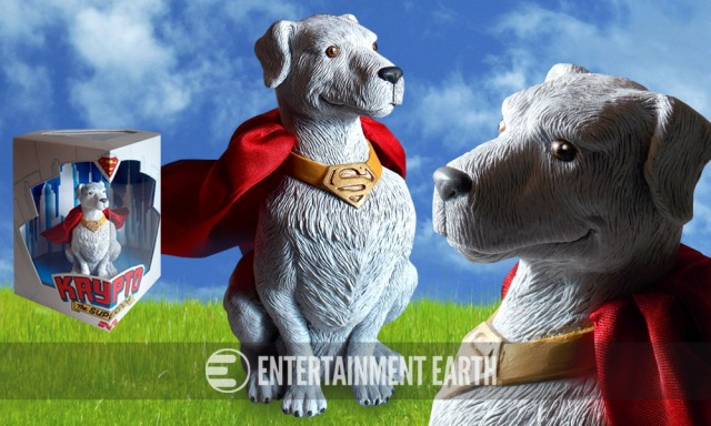 Superman Krypto Statue Exclusive