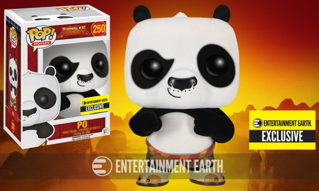 Kung Fu Panda Flocked Pop! Vinyl Exclusive