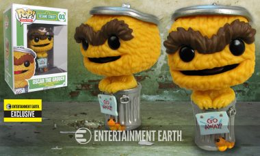 Exclusive Sesame Street Pop! Vinyl May Be Orange But He's Still Grouchy