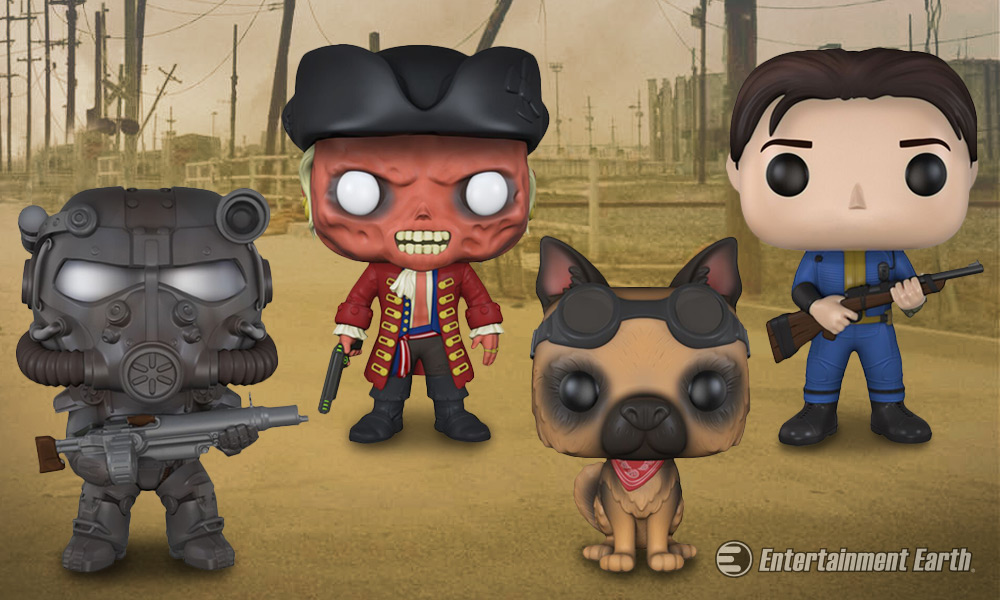 Brave The Wasteland Of Fallout 4 With New Pop Vinyl Figures