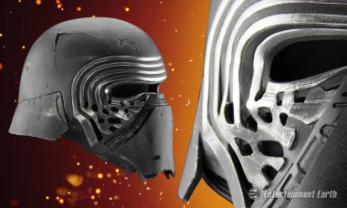 Join the Dark Side with Kylo Ren's Premier Prop Replica Helmet